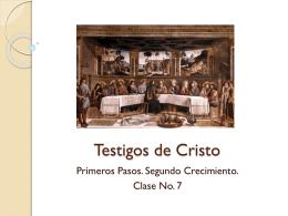 Testigos de Cristo