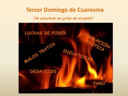 Tercer Domingo de Cuaresma - Misioneras de la Inmaculada