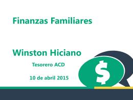 Seminario Hablemos de Dinero por Lic. Winston