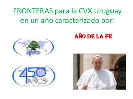Presentación Fronteras para Asamblea Nacional CVX Uruguay 2013