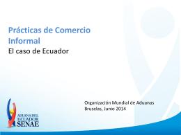 Practicas de comercio informal (EC)