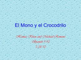 El Mono y el Crocodrilo