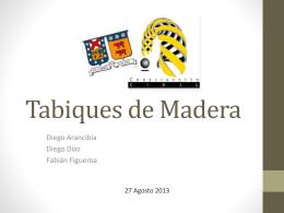 Tabiques de Madera