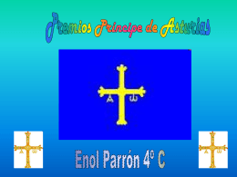 Presentación premios principe de asturias