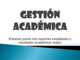 Presentación Gestión Académica para Papás