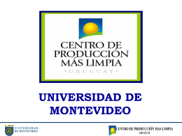 Diapositiva 1 - Universidad de Montevideo