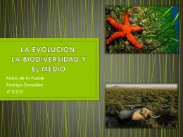LA EVOLUCIÓN. LA BIODIVERSIDAD Y EL MEDIO