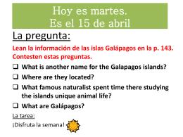 Los Galápagos