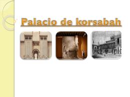 2 Palacio de korsabah