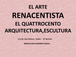 ARQUITECTURA DEL QUATTROCENTO
