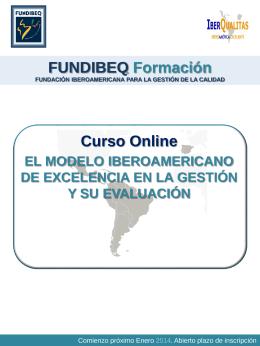 Curso Modelo Iberoamericano y su Evaluacion