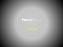 Pronombres - SEBAWORLD
