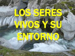 LOS SERES VIVOS Y SU ENTORNO