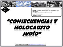 Consecuencias y Holocausto Judío - Historia1Imagen