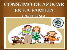 CONSUMO DE AZUCAR EN LA FAMILIA CHILENA