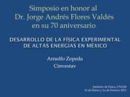 Fisica Experimental de Altas Energias en Mexico