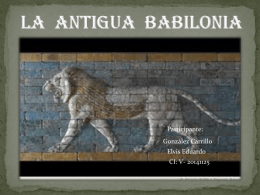 la antigua babilonia terminada