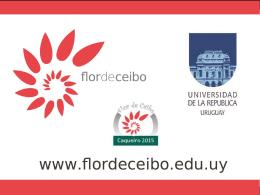 Proyecto Flor de Ceibo - Universidad de la República