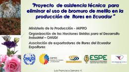 22.1 Proyecto Expoflores Ecuador Francisco Serrano