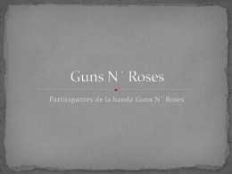Guns N´ Roses - WordPress.com