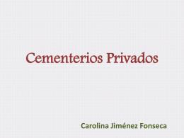 Cementerios Privados