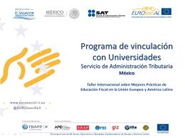 México: Programa de vinculación con