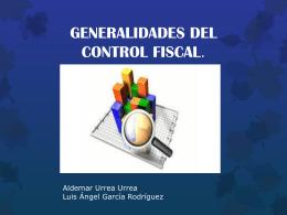 generalidades del control fiscal (2 evaluación)