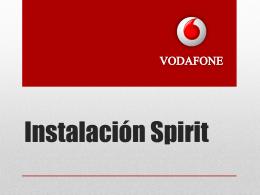 Instalación_Spirit