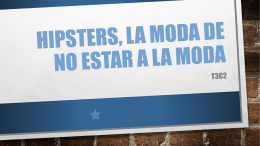 Hipsters, la moda de no estar a la moda