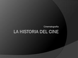 La Historia del Cine - Blog del Prof. Gabriel