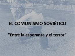 El comunismo soviético - Colegio SS.CC. Manquehue