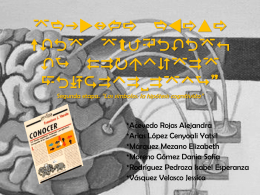 Segunda etapa *LOS SÍMBOLOS: LA HIPÓTESIS