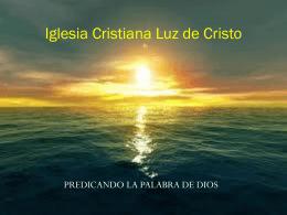 (VASO-DE-HONRA) - Iglesia Cristiana Luz de Cristo