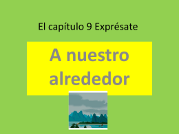 El capítulo 9 Exprésate