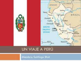 Un viaje a Perú - Español Dos Accelerado