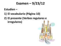 Espanol 7-8 _1_ Vocabulario