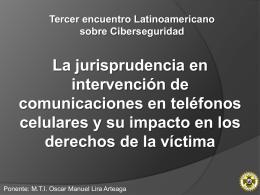 La jurisprudencia en intervención de comunicaciones en teléfonos