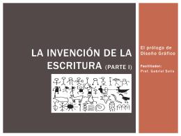 La Invención de la Escritura P1