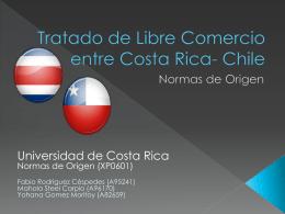 Tratado de Libre Comercio entre Costa Rica- Chile