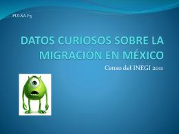 datos curiosos sobre la migración en méxico