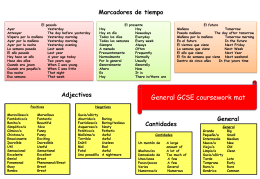 Adjectivos - Issac Greaves