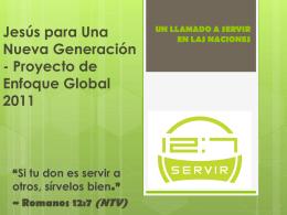 Servir 12:7 - Transforma el Mundo