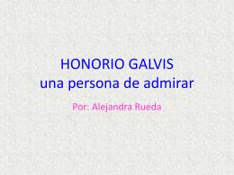 PP hONORIO GALVIS