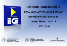 Presentación ECE 4to Trimestre 2014