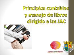 Capacitaciones JAC - juntas de acción comunal