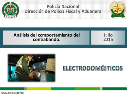 Boletín Electrodomésticos Julio 2015