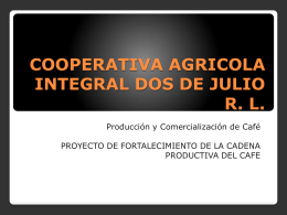 cooperativa agricola integral dos de julio rl