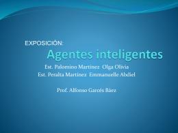 Agentes inteligentes - Facultad de Ciencias de la Computación