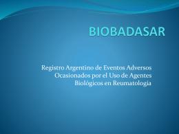 Tratamiento con agentes biológicos Mitos y Realidades.