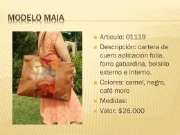 Modelo Maia